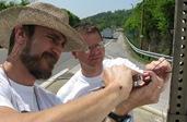 Tim Cash and John Haywood