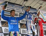 Junior Championship podium