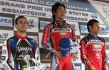 Champ class podium