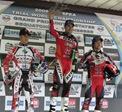 Championship podium